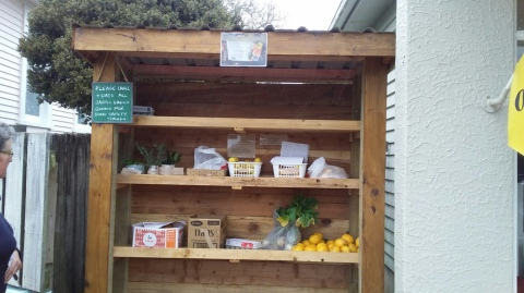 Piopio Community Fruit & Veg Stand