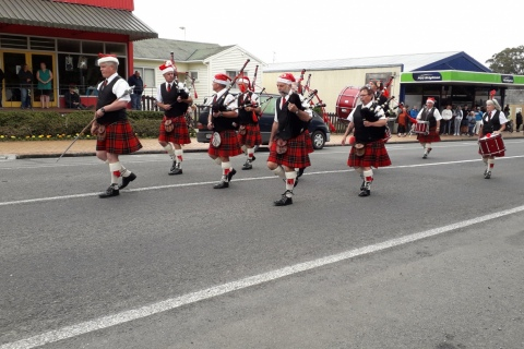 Ter Kuiti & Districts Pipe Band